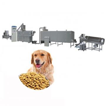Wet Way Feed Making Puffing Dry Pet Food Production Line
