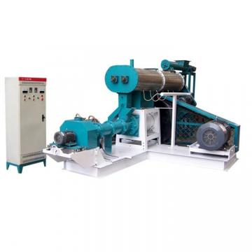 High capacity automatic floating fish feed making machine extruder production line