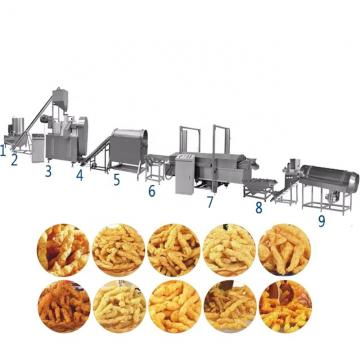 Fried Nik Naks Kurkure Cheetos Making Extruder Machine