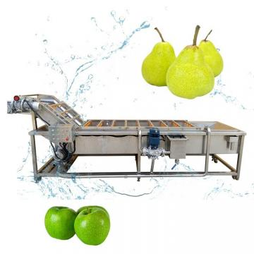 Automatic Fruit Vegetable Cleaning Drying Cassava Peeling and Washing Machine