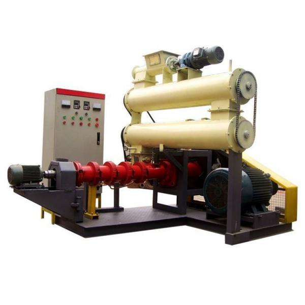 Floating fish feed food making pellet extruder machine for fish farming