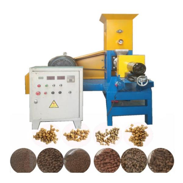 commercial industrial puffed dog food machine
