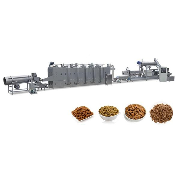 Dog Cat Fish Shrimp Bird Pet Snack Food Extruder Machine Production Line