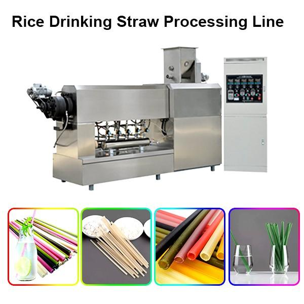 China manufacturer direct sell biodegradable full automatic biodegradable paper drinking straw making machine