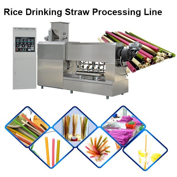 Industrial Biodegradable Paper Tube Machine Drinking Straw Making And Cutting