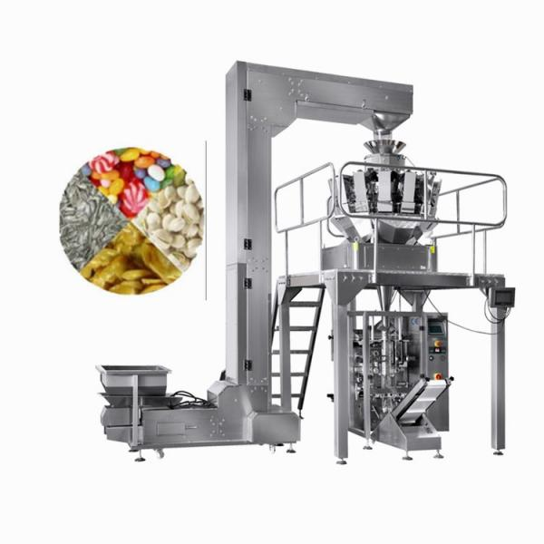 Automatic 3-Sided Sealed Particles Spare Parts Filling Weighing Packing Machine #1 image